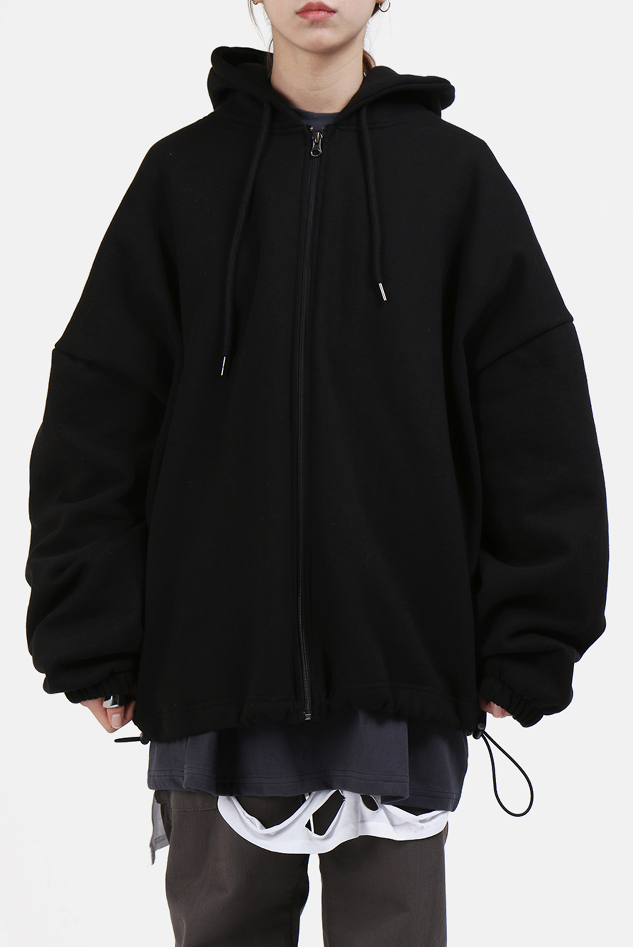 Training_String Hoodie Zip-up