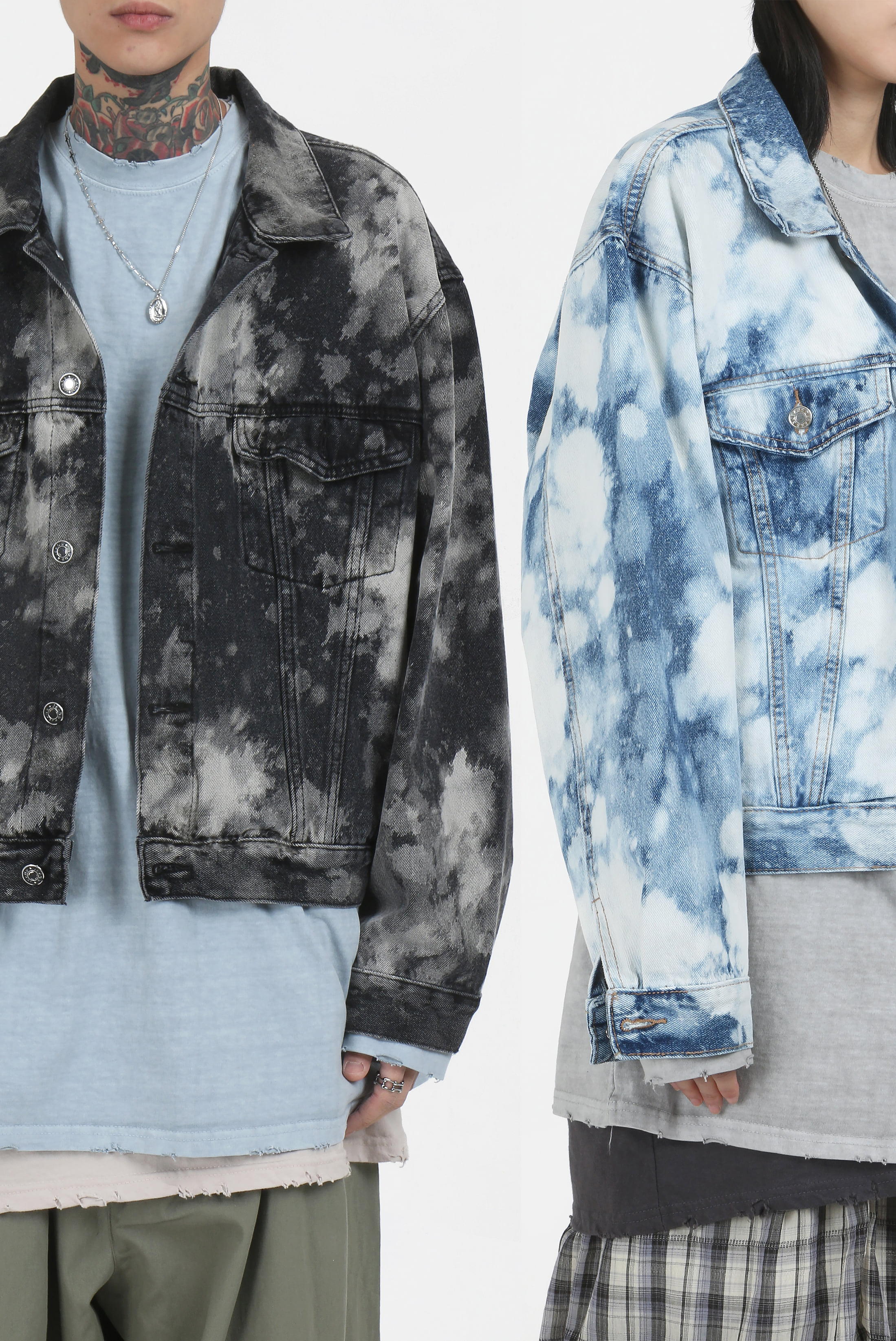 Water_Washing Shot Denim_Jacket