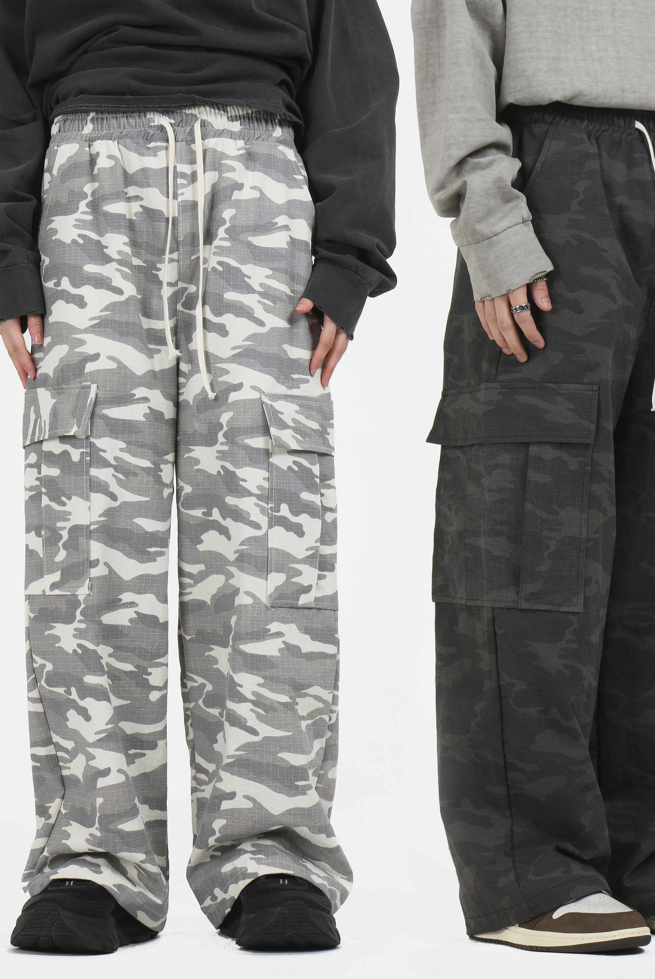 Digital Camouflage_Bending Pants